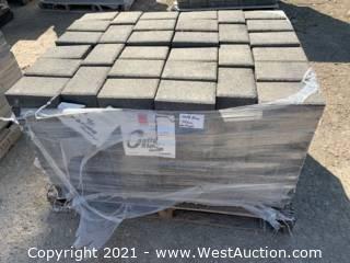 (2) Pallets of Castle Stone Tahoe Blend Rec Pavers