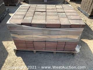 (3) Pallets of Castle Stone Napa Blend Rec Pavers