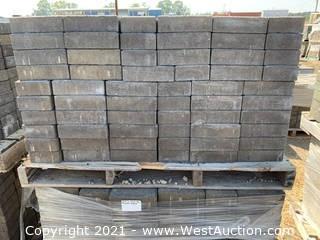 (3) Pallets of Castle Stone Mojave Blend Rec Pavers