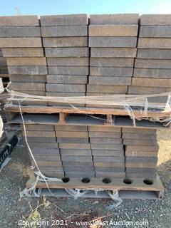 (3) Pallets of Castle Stone Monterey Blend Rec Pavers