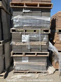 (5) Pallets of Century Stone Monterey Blend Giant Pavers