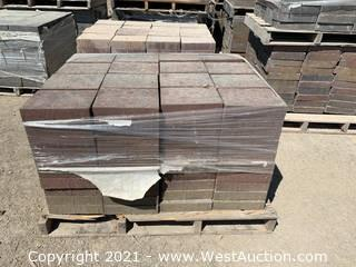(3) Pallets of Century Stone Sonoma Blend Giant Pavers