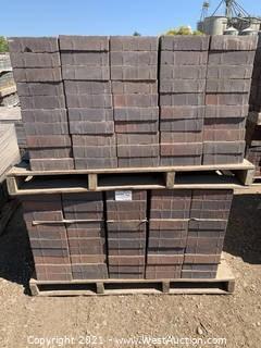 (5) Pallets of Century Stone Sonoma Blend Rec Pavers