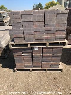 (4) Pallets of Century Stone Sonoma Blend Rec Pavers