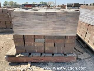 (2) Pallets of Century Stone Sonoma Blend Square Pavers