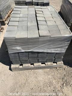 (3) Pallets of Century Stone Shasta Blend Pavers