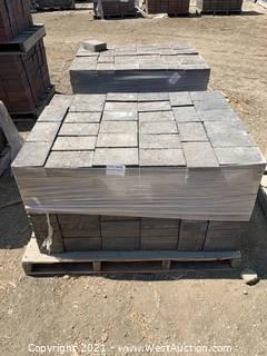 (3) Pallets of Century Stone Monterey Blend Rec Pavers