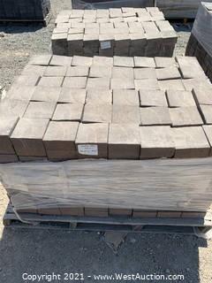 (3) Pallets of Century Stone Monterey Blend Square Pavers