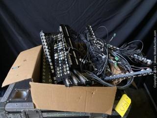 Bulk Lot; BNC, Cat6, XLR Rack Plates