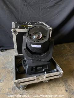 AFJ Vizi Spot LED Pro Moving Head Light with Rolling Road Case