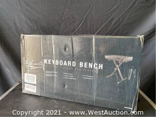 Portable X-Style Keyboard Bench