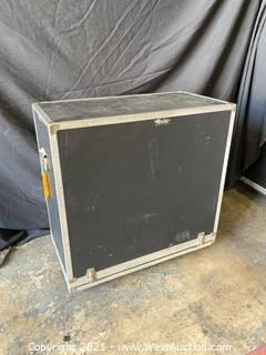 Rolling Guitar Cabinet Case