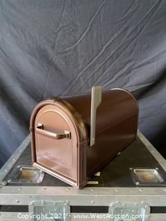 New Hillsborough Copper Post Mount Mailbox