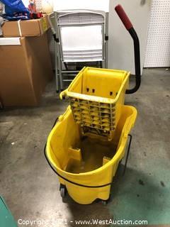(4) Rubbermaid Mop Buckets