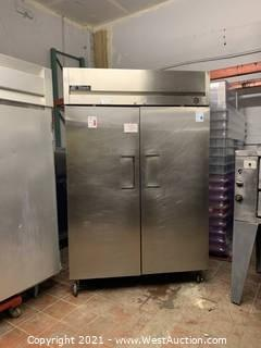 True TM-52 Reach In Two Section Refrigerator