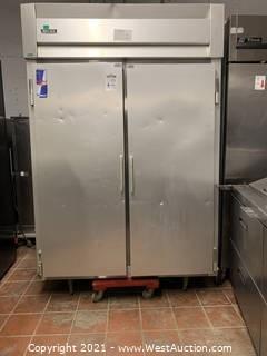 MacCall Stainless Steel 2 Door Refrigerator