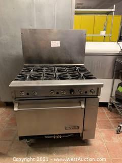 Imperial 6 Burner Range With Standard Oven