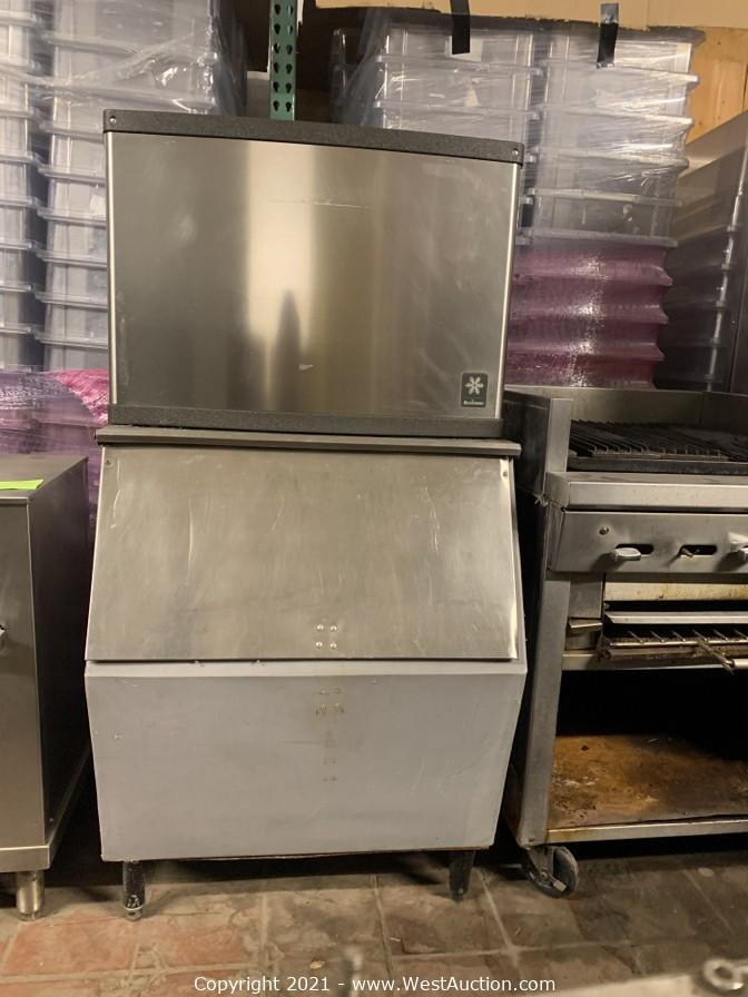 Surplus Auction of Commercial Restaurant and Catering Equipment in San Jose, CA