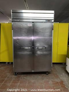 Beverage Air Two Section Reach In Freezer