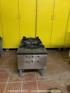 Double Stack Pot Burners