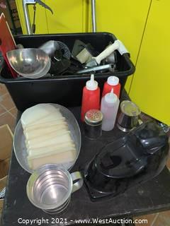 Assorted Small Ware
