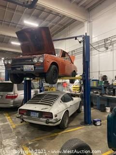 Rotary 7,000lb Car Lift