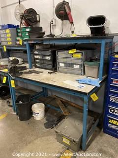Steel Work Table (Table Only)