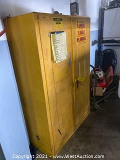 JustRite Flammable Storage Cabinet (Cabinet Only)