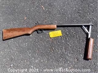 Benjamin Franklin 347 .177cal Pneumatic Air Rifle