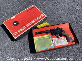 Crosman 38T CO2 Pellgun .22cal 6-shot Single/Double Action Revolver