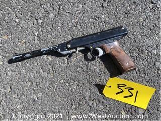 Mondial Oklahoma Spring-piston .177 Smoothbore Air Pistol