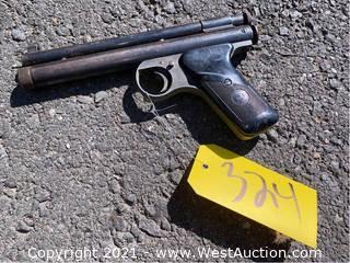 Benjamin Franklin 35 Shot BB Rocket CO2 Pistol
