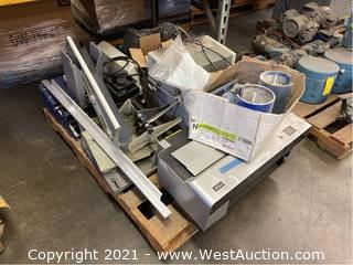 Pallet Of Printers And Scanners With Accessories