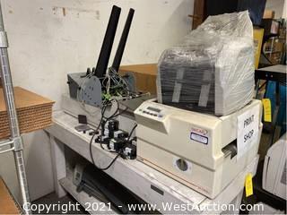 SECAP SA 5300vt Printer With Ink Cartridges