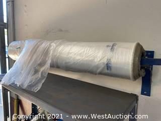 Plastic Seat Cover Bag Dispenser & Roll of (100+) Covers