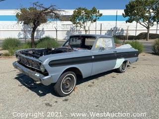 1964 Ford Ranchero With Engine