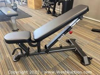 Muscle-D Flat to Incline Bench (Vertical Style)