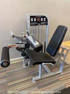 Muscle-D Leg Extension/Seated Leg Curl Combo Machine