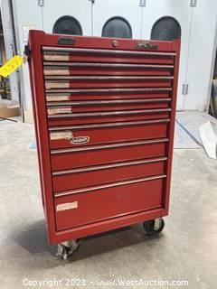 Mac Tools Economizer 2000 Tool Box On Caster Wheels