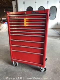 Mac Tools Tool Box On Caster Wheels
