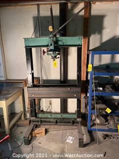 Vickers 20 Ton Hydraulic Press