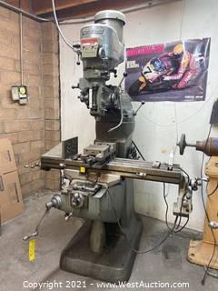 Bridgeport Series I 2 Horsepower Manual Milling Machine