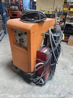 Airco AC/DC Heliwelder With Magnum System Monitor