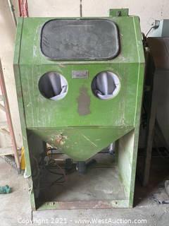 Empire Abrasive Equipment MH-2636S-1 Sand Blasting Cabinet