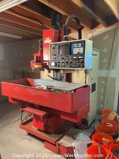 1982 Matsuura MC-500V Mini-Master CNC Mill