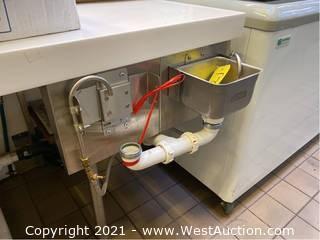 Nemco Single Basin Utensil Washing Station