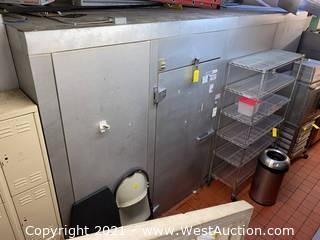 Walk-in Freezer 14' x 8' x 8'