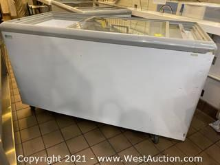 Excellence HB-17LD Dual Temp Commercial Cooler & Display Freezer