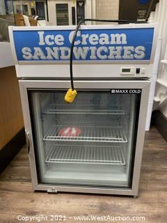 Maxx Cold Commercial Freezer