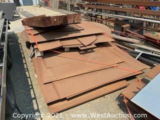 (3) Pallets Of Assorted Sheet Steel